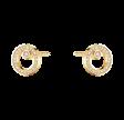 Halo ørestik paveret diamant