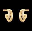 Halo øreringe enkelt rk.