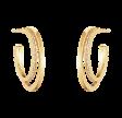 Halo øreringe enkelt rk