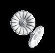 DAISY ørespyd 11 mm hvid