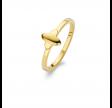 Happy ring, forgyldt